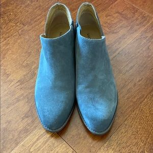 Gray suede and leather Lucky Brand Booties